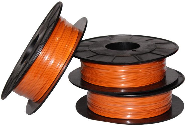 300 meter pyro kabel doppelader orange verschleissdraht klingedraht f r feuerwerk und. Black Bedroom Furniture Sets. Home Design Ideas