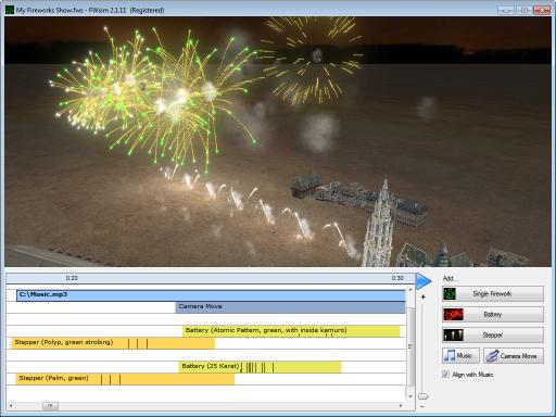 Feuerwerk Simulator